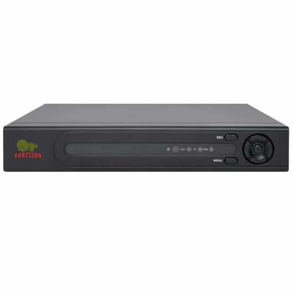 Відеонагляд/Відеореєстратори 4-канальний XVR відеореєстратор Partizan ADF-14S SuperHD 4.3