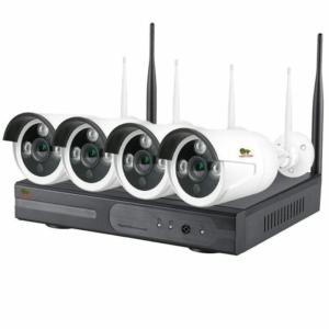 Відеонагляд/Комплекти відеоспостереження Комплект відеоспостереження Partizan Wi-Fi IP-36 4xCAM + 1xNVR (v1.1)