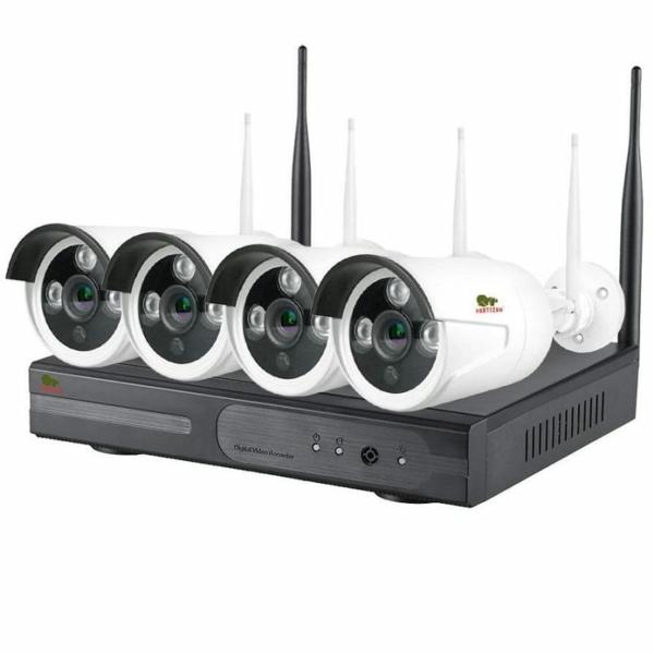 Видеонаблюдение/Комплекты видеонаблюдения Комплект видеонаблюдения Partizan Wi-Fi IP-36 4xCAM + 1xNVR (v1.1)