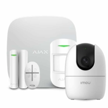 Security systems/Alarm Kits Wireless Alarm Kit Ajax StarterKit white + Wi-Fi Camera 2MP-A22EP