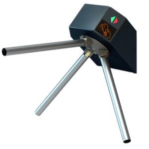 Контроль доступа/Турникеты Турникет-трипод LOT Eco окрашенный черный металл