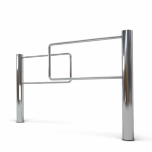 Access control/Turnstiles Access turnstile LOT L-IT gate polished stainless steel