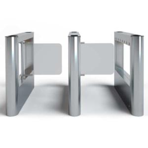 Контроль доступа/Турникеты Створчатый турникет LOT Porta Light полированная нержавеющая сталь