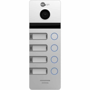 Intercoms/Video Doorbells Video Doorbell Neolight Mega 4 HD silver