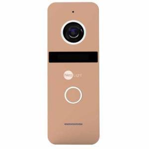 Intercoms/Video Doorbells Video Doorbell Neolight Solo FHD Gold