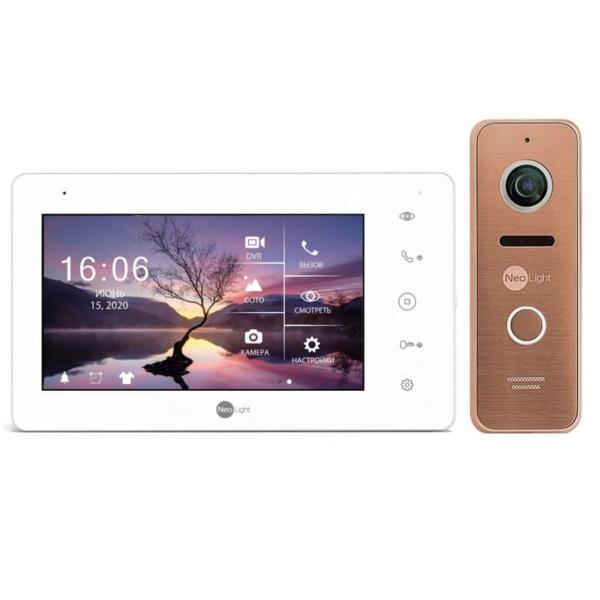 Intercoms/Video intercoms Video intercom kit Neolight Zeta+ HD + Prime FHD (Pro) bronze