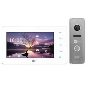 Домофоны/Видеодомофоны Комплект видеодомофона Neolight Zeta+ HD + Solo FHD silver