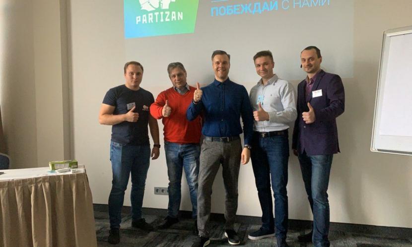 Відеонагляд Partizan. Семінар у Ризі (Латвія)