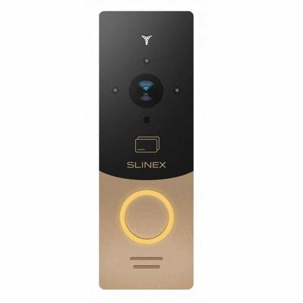 Домофоны/Вызывные видеопанели Вызывная видеопанель Slinex ML-20CRHD gold+black
