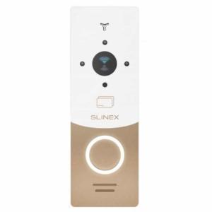 Домофони/Викличні відеопанелі Виклична відеопанель Slinex ML-20CRHD gold+white