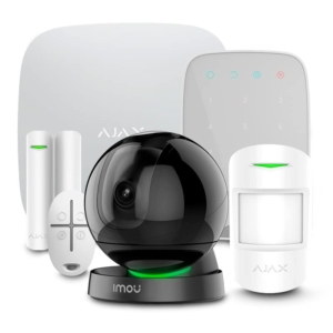 Security Alarms/Alarm Kits Комплект сигналізації Ajax StarterKit + KeyPad white + Wi-Fi камера 2MP-A26HP