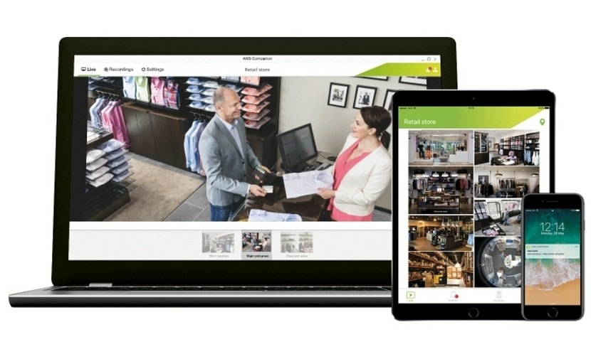 Video surveillance Axis Communications Announces AXIS Companion Software Release