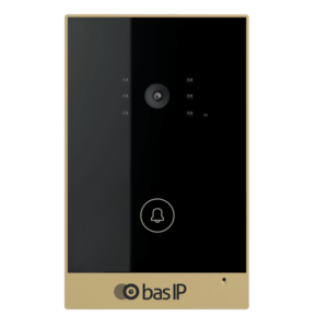 Intercoms/Video Doorbells IP Video Doorbell BAS-IP AV-02 gold