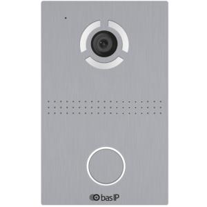 Домофони/Викличні відеопанелі Виклична IP-відеопанель BAS-IP AV-03D silver