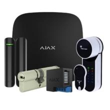 Охранные системы/Комплекты сигнализаций Комплект беспроводной сигнализации Ajax StarterKit black + Mul-T-Lock Entr