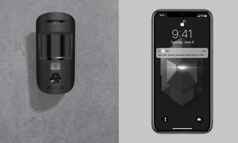 Охранные системы Мультирелиз 2019 от Ajax Systems: датчик MotionCam, сценарии и Multi-ReX