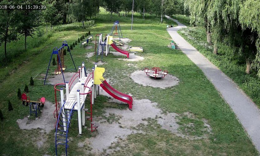 Видеонаблюдение Как развлекается молодежь в парках, когда думает, что ее никто не видит? видео