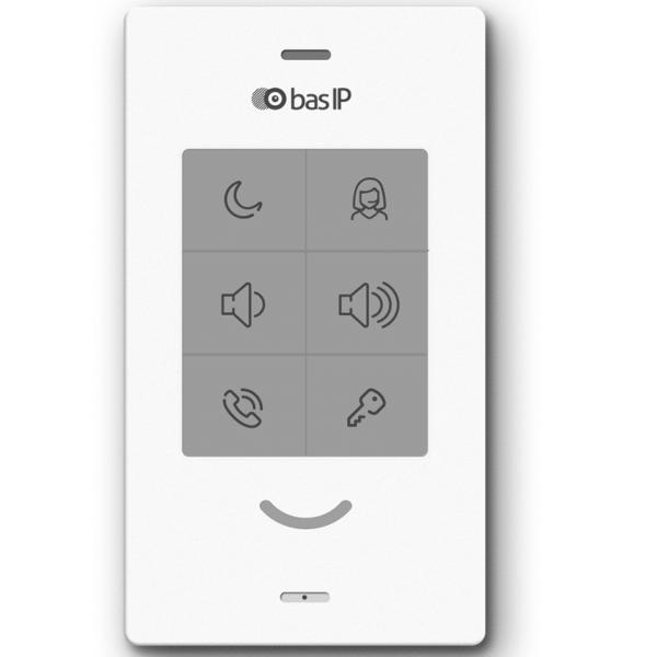 Домофоны/Аудиодомофоны Абонентское IP аудио устройство BAS-IP SP-03 white