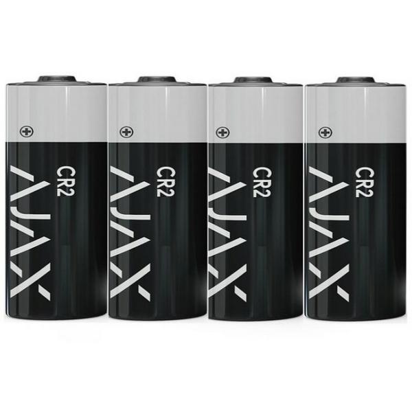 Джерела живлення/Батарейки Батарейка Ajax CR2 4 шт