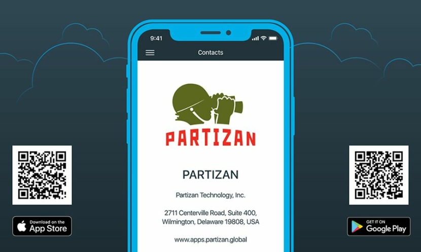 Видеонаблюдение Уникальная функция для партнеров в мобильном приложении Partizan