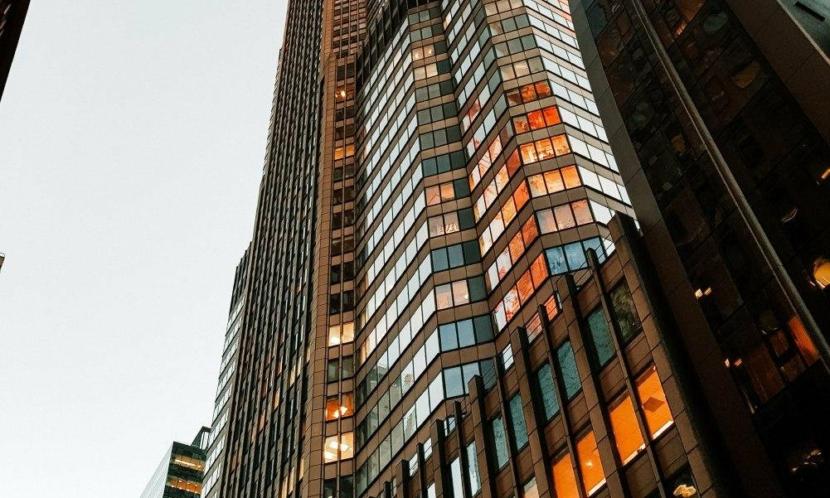 Video surveillance IP intercom in the modern city