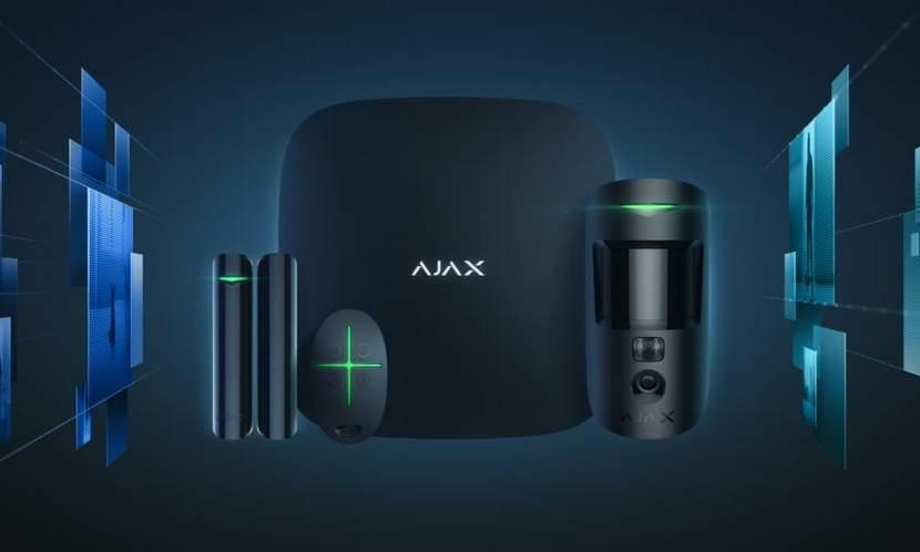 Охранные системы Обзор Ajax StarterKit Cam