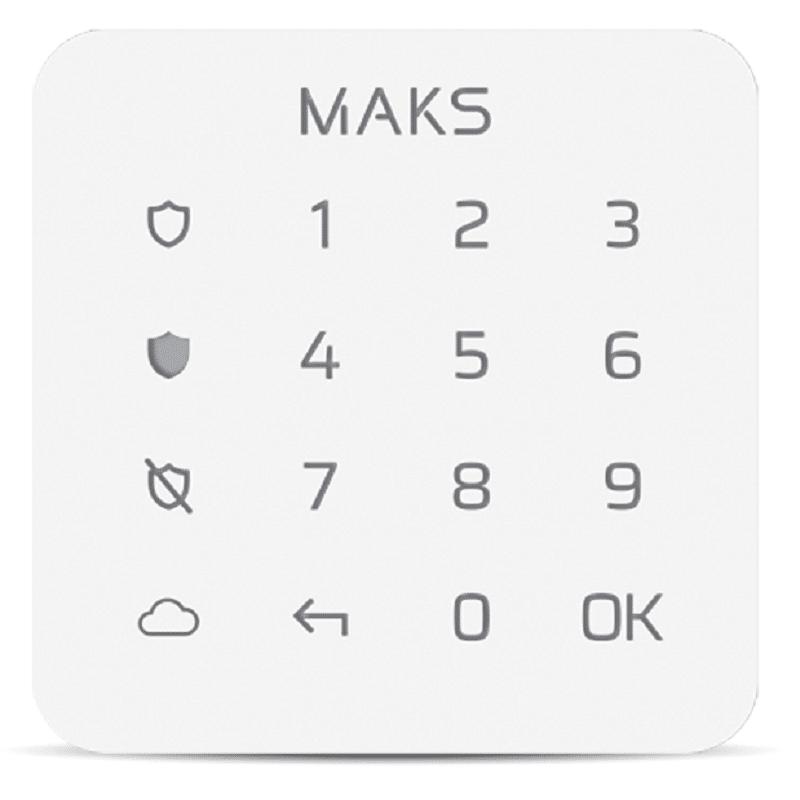 Клавіатура Maks Keypad mini white