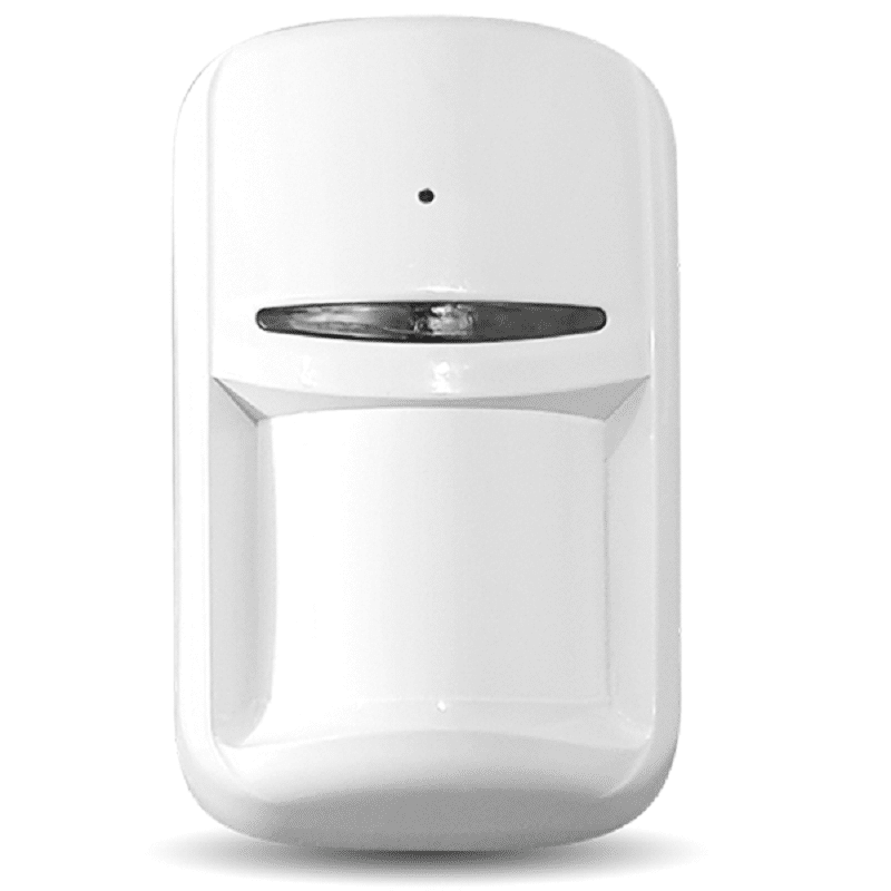 Беспроводный датчик движения и разбития Maks PIR Combi white