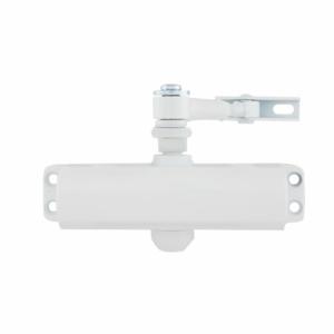 Контроль доступа/Доводчики, Фиксаторы/Доводчики дверей Дотягувач накладний RYOBI 9903 glossy white STD_ARM до 65кг   Copy