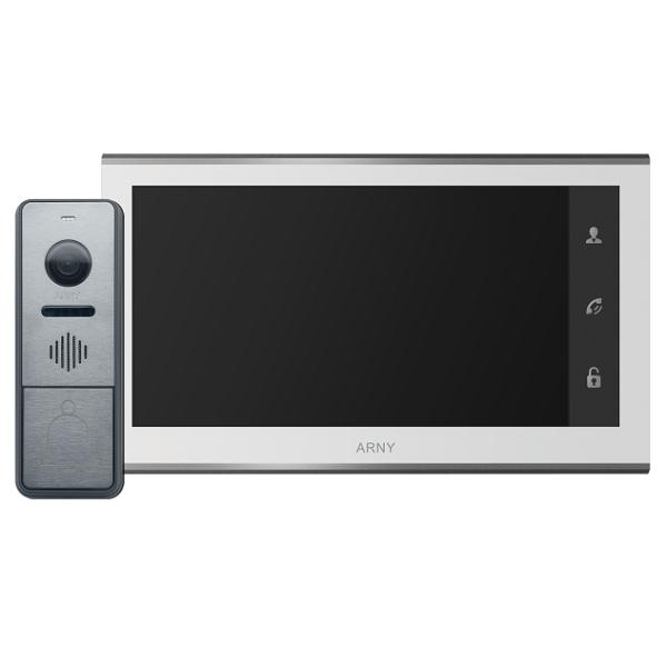 Домофони/Відеодомофони Комплект відеодомофону Arny AVD-7330 WiFi white+graphite