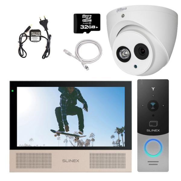 Intercoms/Video intercoms Video intercom kit Slinex HD-KIT B + CAM premium