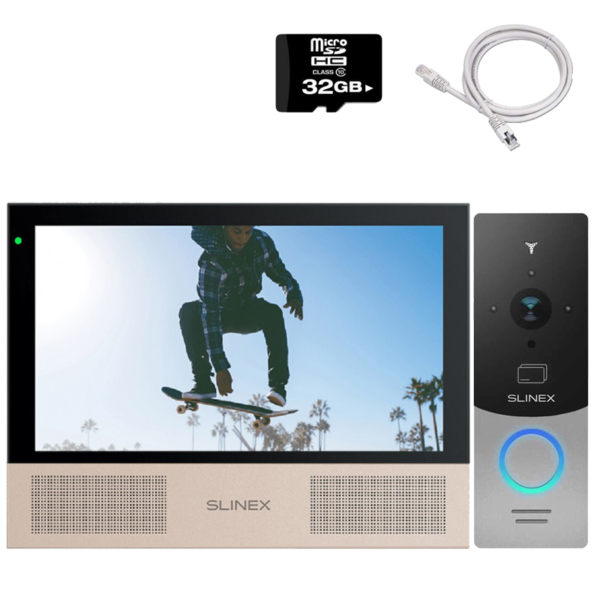 Intercoms/Video intercoms Video intercom kit Slinex HD-KIT B premium