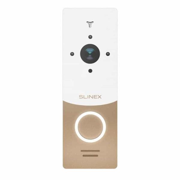 Intercoms/Video Doorbells Video Doorbell  Slinex ML-20HD white+gold