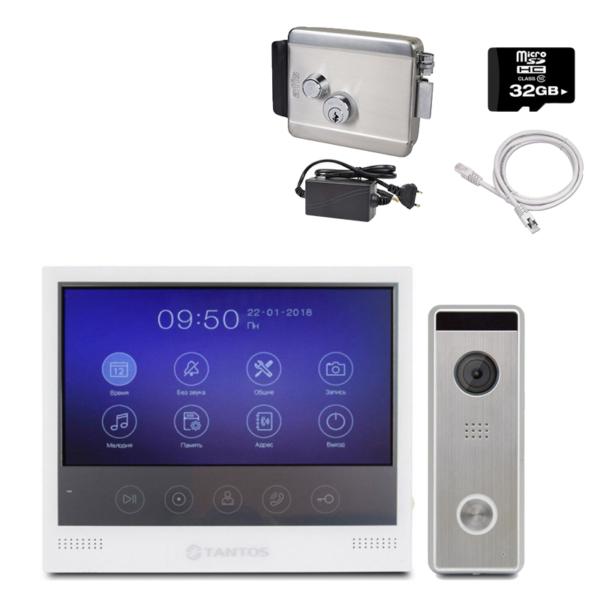 Intercoms/Video intercoms Video intercom kit Tantos KIT W + LOCK standart