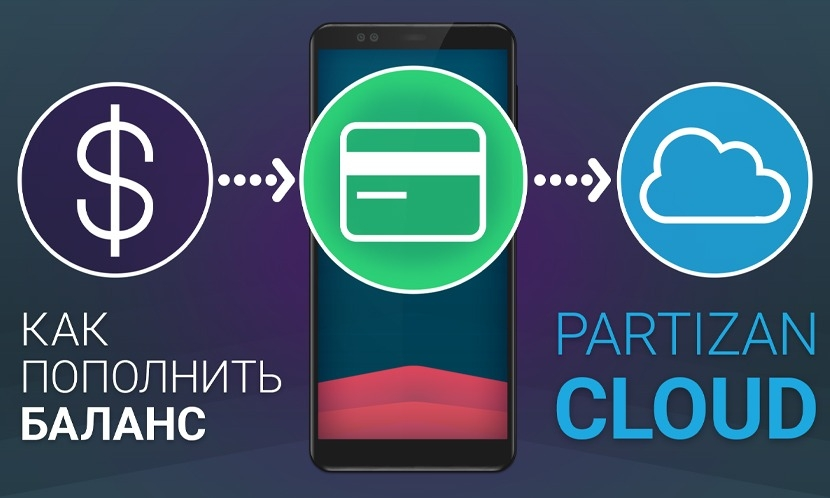 News Partizan Cloud. Connect services and replenish balance from your mobile!