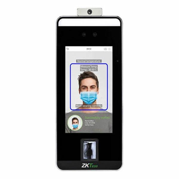 Контроль доступа/Биометрические системы Биометрический терминал ZKTeco SpeedFace-V5L[TD] с распознаванием лиц и измерением температуры