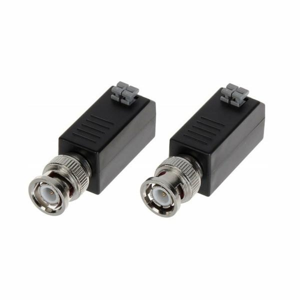 Відеонагляд/Приймачі-передавачі Приймач-передавач відеосигналу Hikvision DS-1H18 пасивний (комплект)