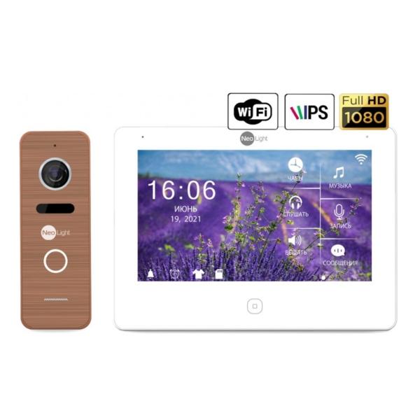 Intercoms/Video intercoms Video intercom kit Neolight NeoKIT HD Pro WF Bronze
