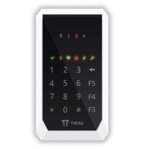 Охоронні сигналізації/Клавіатури Кодова клавіатура Tiras K-PAD4 для управління охранною системою Orion NOVA II