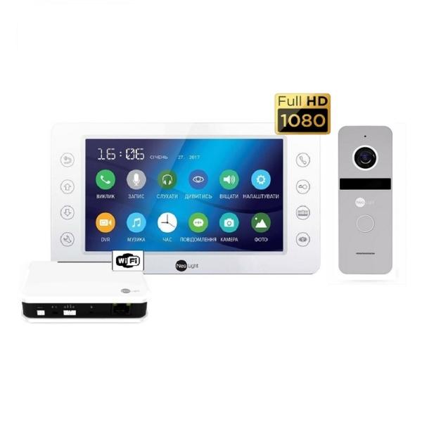 Intercoms/Video intercoms Video intercom kit Neolight Kappa HD WiFi Box Silver