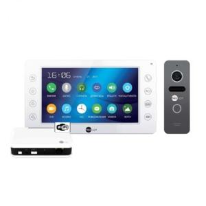 Домофоны/Видеодомофоны Комплект видеодомофона Neolight Kappa+ WiFi Box Graphite