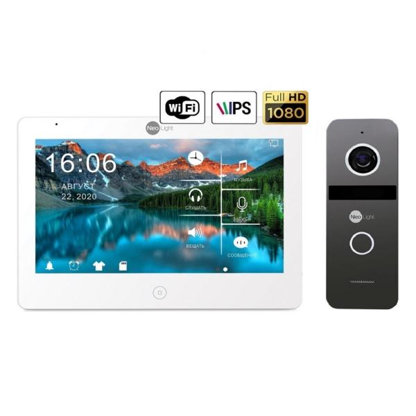 Intercoms/Video intercoms Video intercom kit Neolight Mezzo HD WiFi  / Solo FHD Graphite