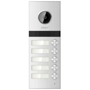 Домофоны/Вызывные видеопанели Вызывная видеопанель Arny AVP-NG525 (1Mpx) silver