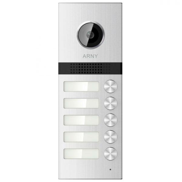 Intercoms/Video Doorbells Video Calling Panel Arny AVP-NG525 (1Mpx) silver