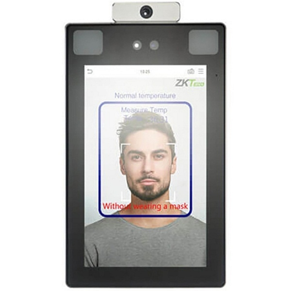 Access control/Biometric systems Biometric terminal ZKTeco ProFace X [TD] with face, palm recognition and temperature measurement