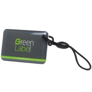 Контроль доступа/Карточки, Ключи, Брелоки UHF метка-наклейка ZKTeco UHF Parking Tag для автомобиля