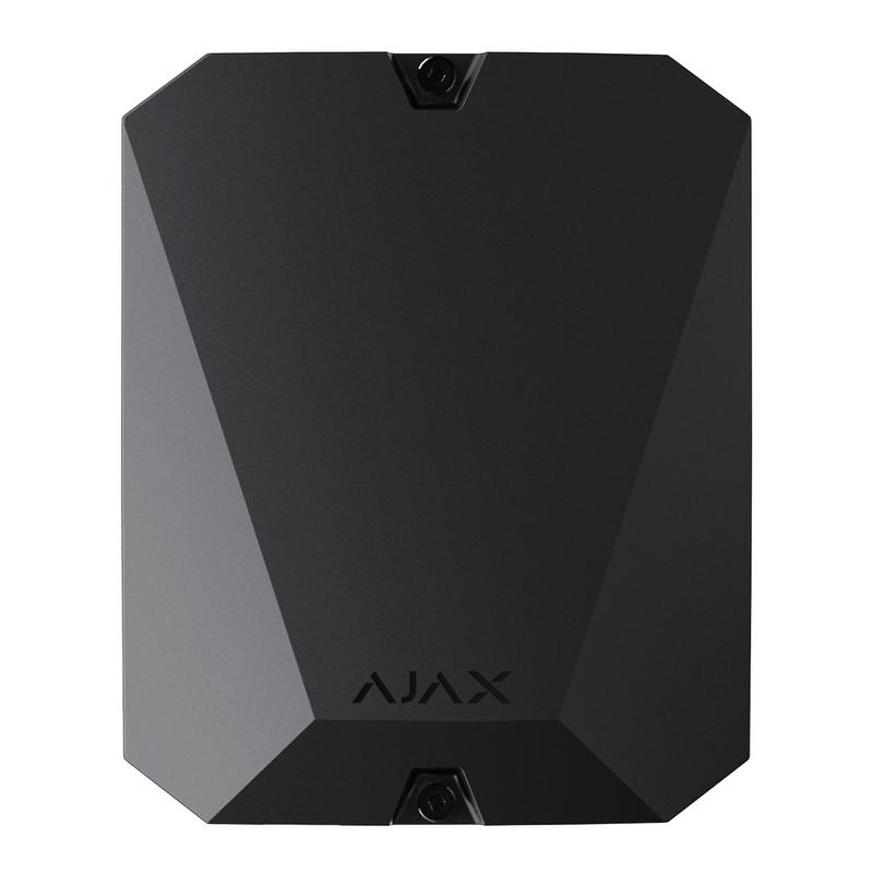 Модуль Ajax MultiTransmitter black для інтеграції сторонніх датчиків