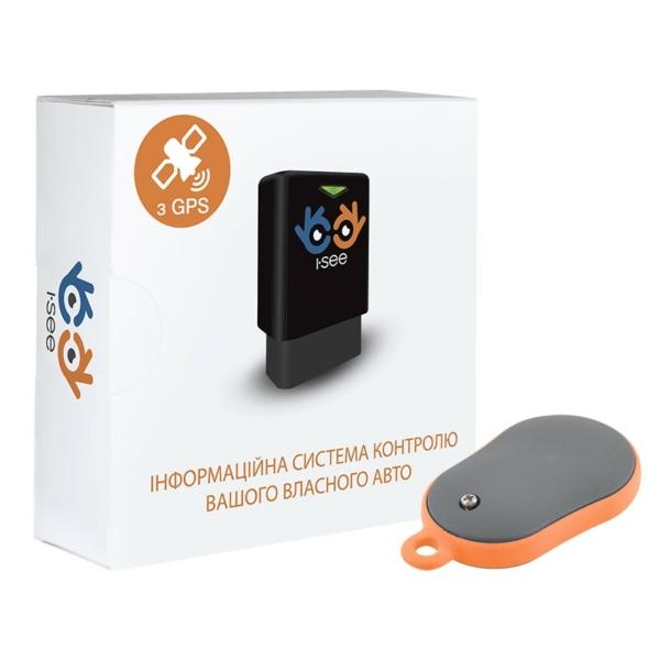 Автомобільна безпека/GPS-трекери для автомобілей I-SEE GPS трекер + bluetooth брелок