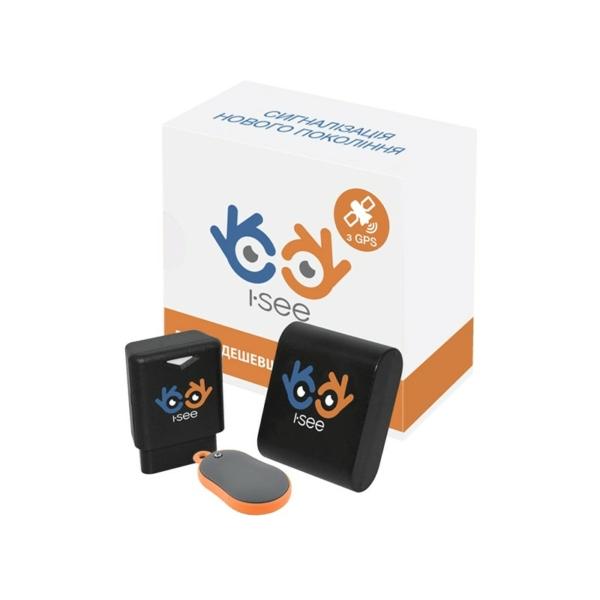 Автомобільна безпека/GPS-трекери для автомобілей I-SEE GPS трекер+ bluetooth брелок + I-SEE маяк