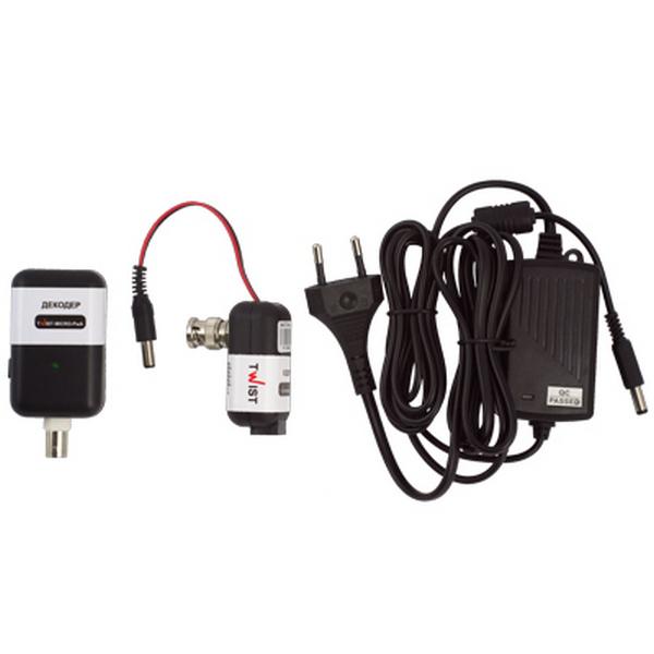 Відеонагляд/Приймачі-передавачі Приймач-передавач відеосигналу Twist-MICRO-PwA комплект